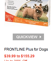 Petco.com: $15 Off Orders $49 Including Free Shipping Plus up to 38% Off Frontline for Dogs