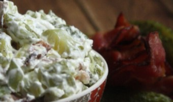 Bacon Wrapped Pickle Dip Recipe