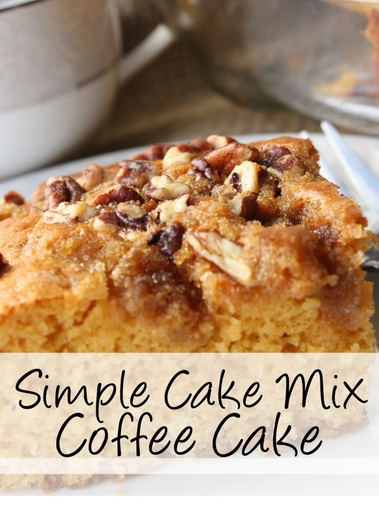 Looking for the best coffee cake? Easy boxes of cake make this cake fabulous. Like the best, most moist coffee cake you may have ever had in your life. Try it out for your next get together, you'll be so impressed! https://couponcravings.com/butterscotch-coffee-cake/