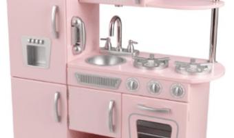 Kidkraft Vintage Kitchen in Pink Only $99 (Reg. $175.99!)