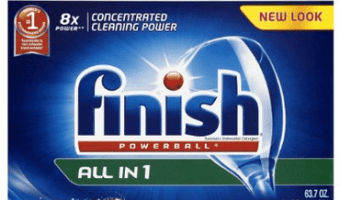 90-Count Finish Dishwasher Tabs at a GREAT Price!