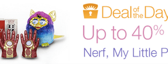 Up to 40% off Nerf, My Little Pony, Games, Play-Doh & More