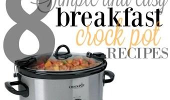 8 Crock Pot Breakfast Casserole Recipes | Pinned Over 500,000 Times