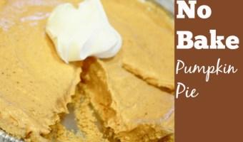 No Bake Desserts: Pumpkin Pie No Bake Dessert Recipe