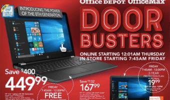 Office Depot Black Friday 2017 Deals & Office Max Black Friday Deals