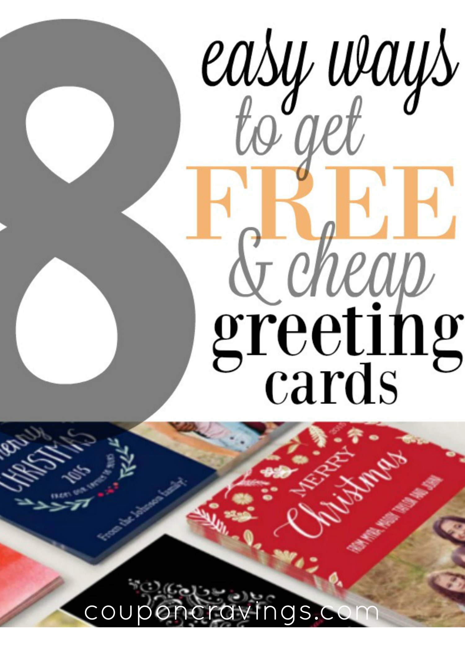 While you're looking for those Christmas card photo ideas, don't miss out on the free Christmas card deals! Number one in this post will easily get you 50 free Christmas Cards!