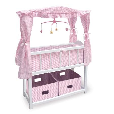 Doll Crib with Bedding