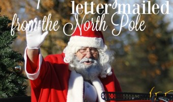 Make a FREE Letter from Santa (Postmarked Letter From the North Pole!)