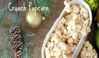 White Chocolate Popcorn Crunch Recipe