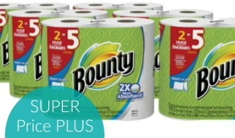 Stock Up Price on Bounty Paper Towels!