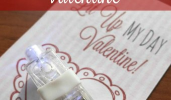 Frugal Non-Food Class Valentine Idea + FREE Printable!