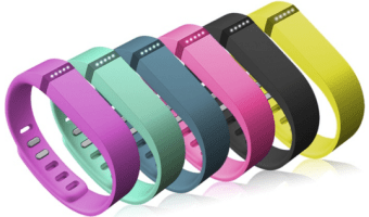 Fitbit Flex Activity and Sleep Tracker with Three Wristbands, Only $44.99