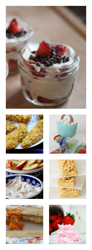 Check out these 10 yogurt recipes - healthy, moist and AMAZING! I've already made two of them and have the rainbow one on the menu for the kids next week - SO EXCITED! #spon