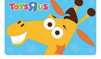 $50 Toys 'R' Us Gift Card, ONLY $41.99!