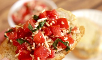 Easy Bruschetta Recipe