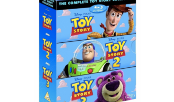 The Complete Toy Story Collection on Blu-Ray, Only $19.99