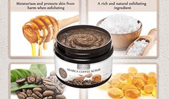 Anjou Arabica Coffee Body Scrub Less than $8