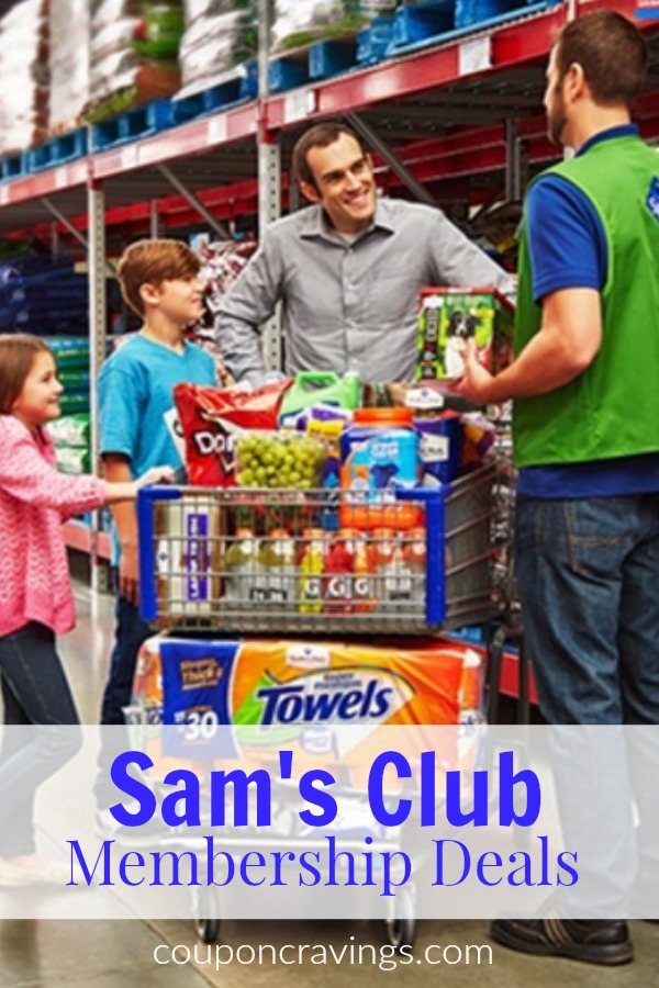 Save on groceries without coupons by buying select items at Sam's Club. In this post she covers the current Sam's Club membership deals.