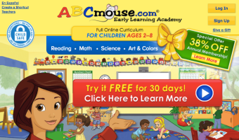 Two Months of ABCMouse.com ONLY $5!
