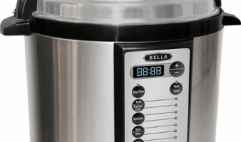 Bella 6-Quart Pressure Cooker Just $39.99 (Reg. $79.99!)
