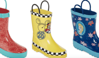 Disney Rainboots on Clearance, Just $12.49!