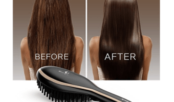 Highly Rated Hair Straightening Brush ONLY $14.99!