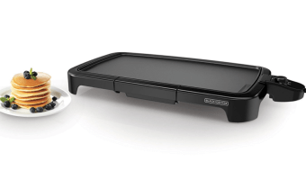 20-Inch Black and Decker Family Sized Electric Griddle ONLY $14.93!