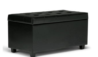 Simpli Home Storage Ottoman and Bench ONLY $39!