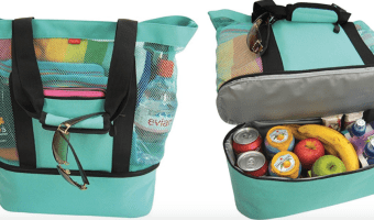 Save $11 on Highly Rated Mesh Tote Bag with Insulated Cooler