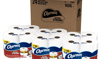 24-ct. Charmin Ultra Strong Toilet Paper – Grab it NOW at this Price!
