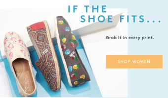 TOMS Shoes for the Family Starting at $14.97!