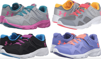 Under Armour Shoes Starting at $22.99!