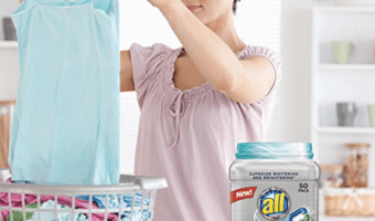 50-ct. all Powercore Pacs Laundry Detergent Plus, $8.49