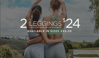 TWO Pair of Fabletics Leggings Ship for $12 Each!