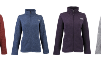 Women's The North Face Crescent Full Zip Jacket Ships for $49!