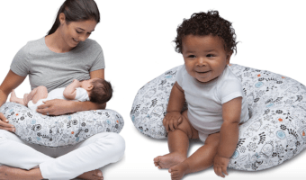 Boppy Nursing Pillow with Slipcover just $17.98