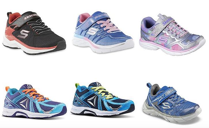 Reebok & Skechers Kids Shoes