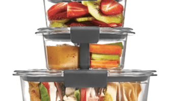 10-Piece Rubbermaid Brilliance Food Storage Container at Best Price!