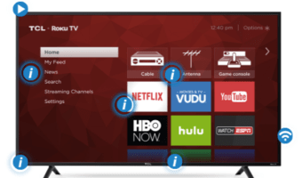 "TCL 55"" Class 4K HDR Roku Smart LED TV Only $398"