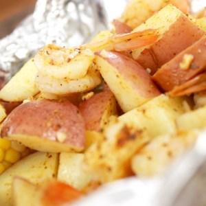 Foil Packet Dinner: Shrimp Boil Packets