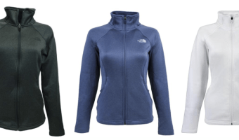 The North Face Women's Agave Full Zip Jacket just $42 (Reg. $99!)