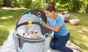36% Off Fisher-Price On-The-Go Baby Dome