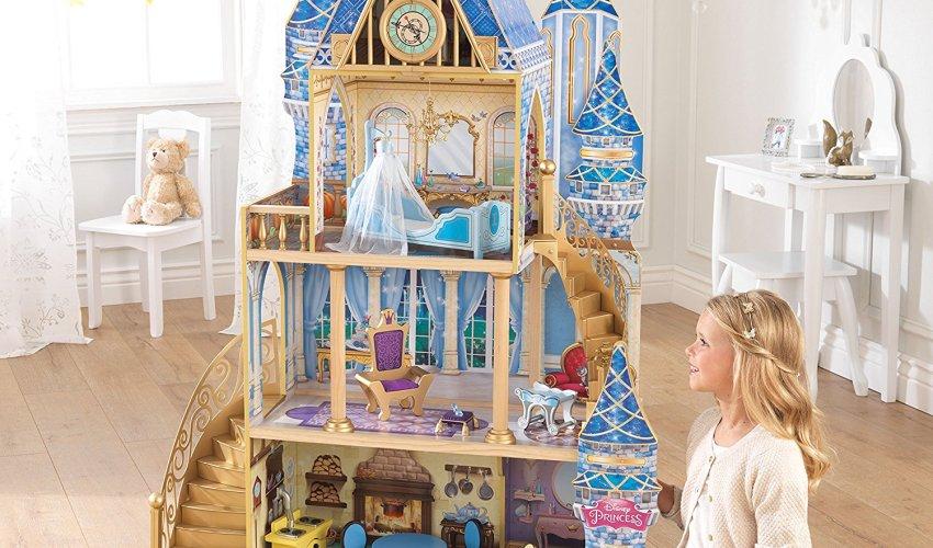 Over Half Off KidKraft Disney Princess Cinderella Royal Dreams Dollhouse