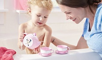 42% Off Minnie Mouse Baby Bath Tea Set