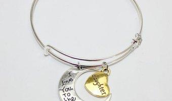 Great Low Price On Moon Love Pendant Bracelet
