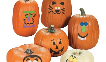 Pumpkin Decorating Craft Kit At A Great Low Price