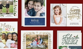50% Off Amazon Prints 50-Count Custom Holiday Cards