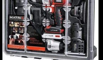 Save On Black & Decker Matrix 6 Power Tools Combo Kit Today Only