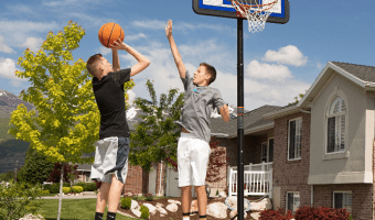 Lifetime Basketball Hoop ONLY $75 (+ Spalding NBA 54″ System Just $197!)