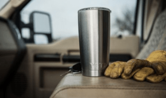 YETI Rambler Stainless Steel Tumbler with Lid ONLY $24.99!